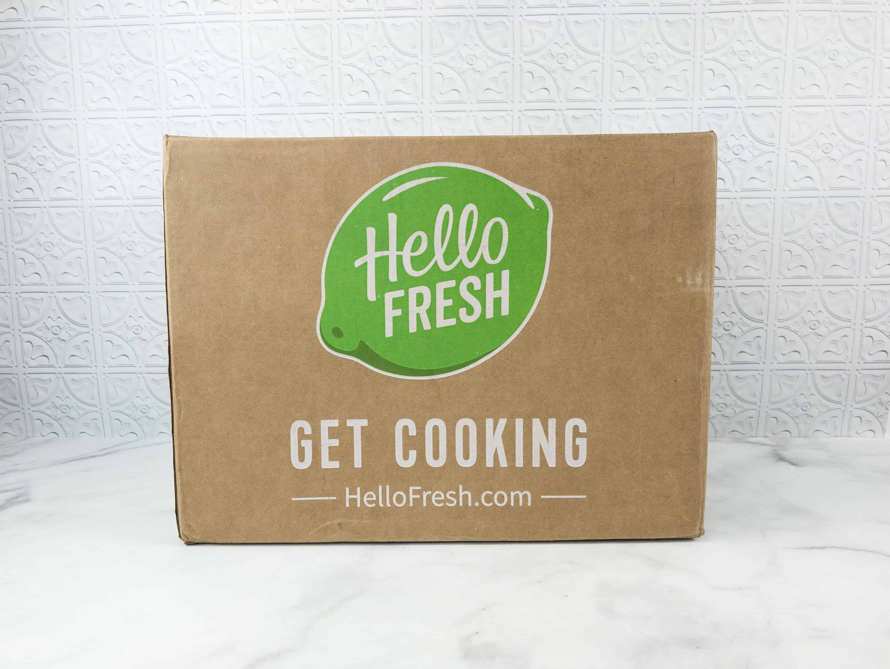 July 2018 Hello Fresh Subscription Box Review Coupon Family Hello Subscription