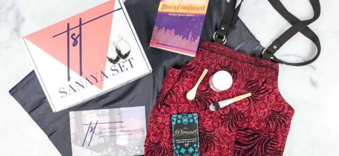 Sanaya Set Summer 2018 Subscription Box Review