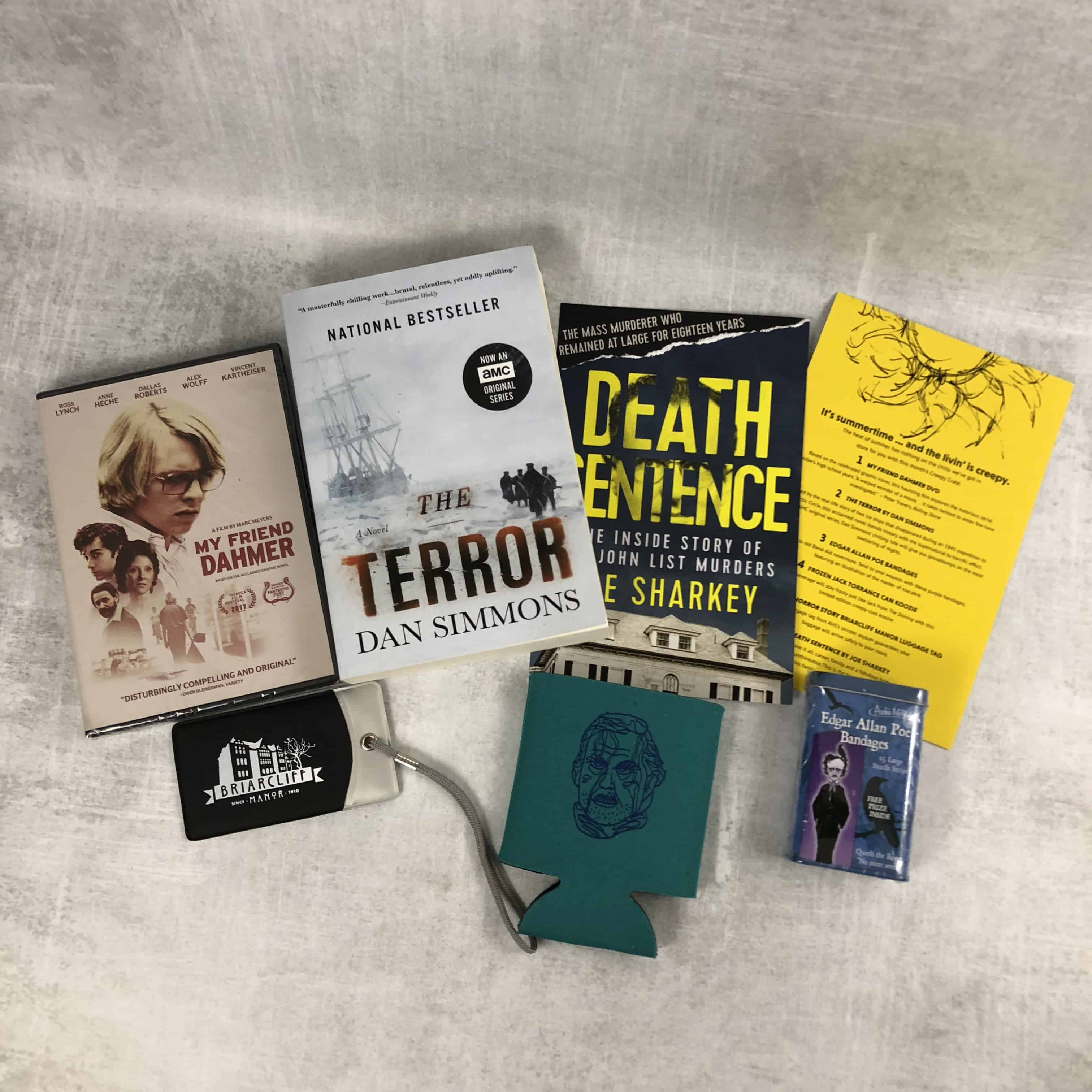 Creepy Crate July 2018 Subscription Box Review + Coupon
