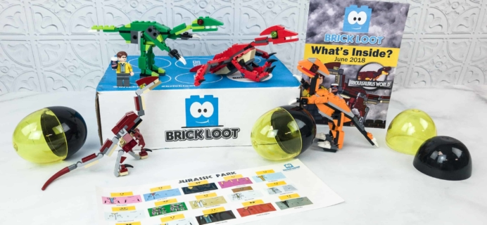 Brick Loot June 2018 Subscription Box Review & Coupon