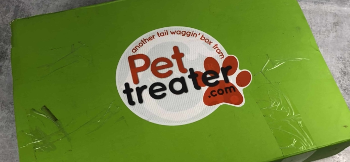 Pet Treater Dog Subscription Box Review + Coupon – June 2018