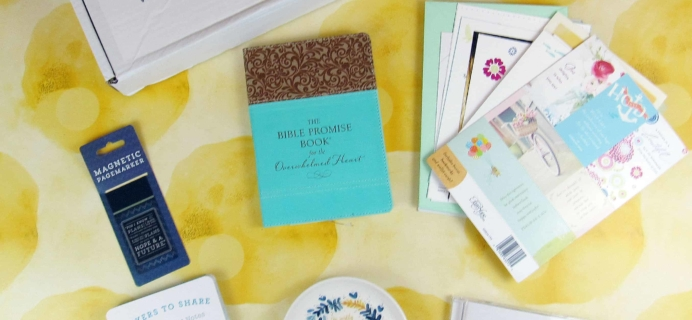 Bette's Box of Blessings Subscription Box June 2018 Review + Coupon
