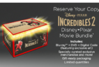 Disney Movie Club INCREDIBLES 2 Member Exclusive Bundle!