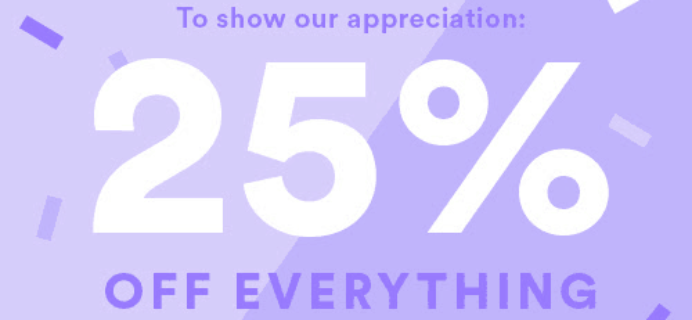 Julep Friends & Family Sale: Get 25% Off!