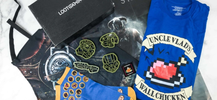 Loot Gaming June 2018 Subscription Box Review & Coupon