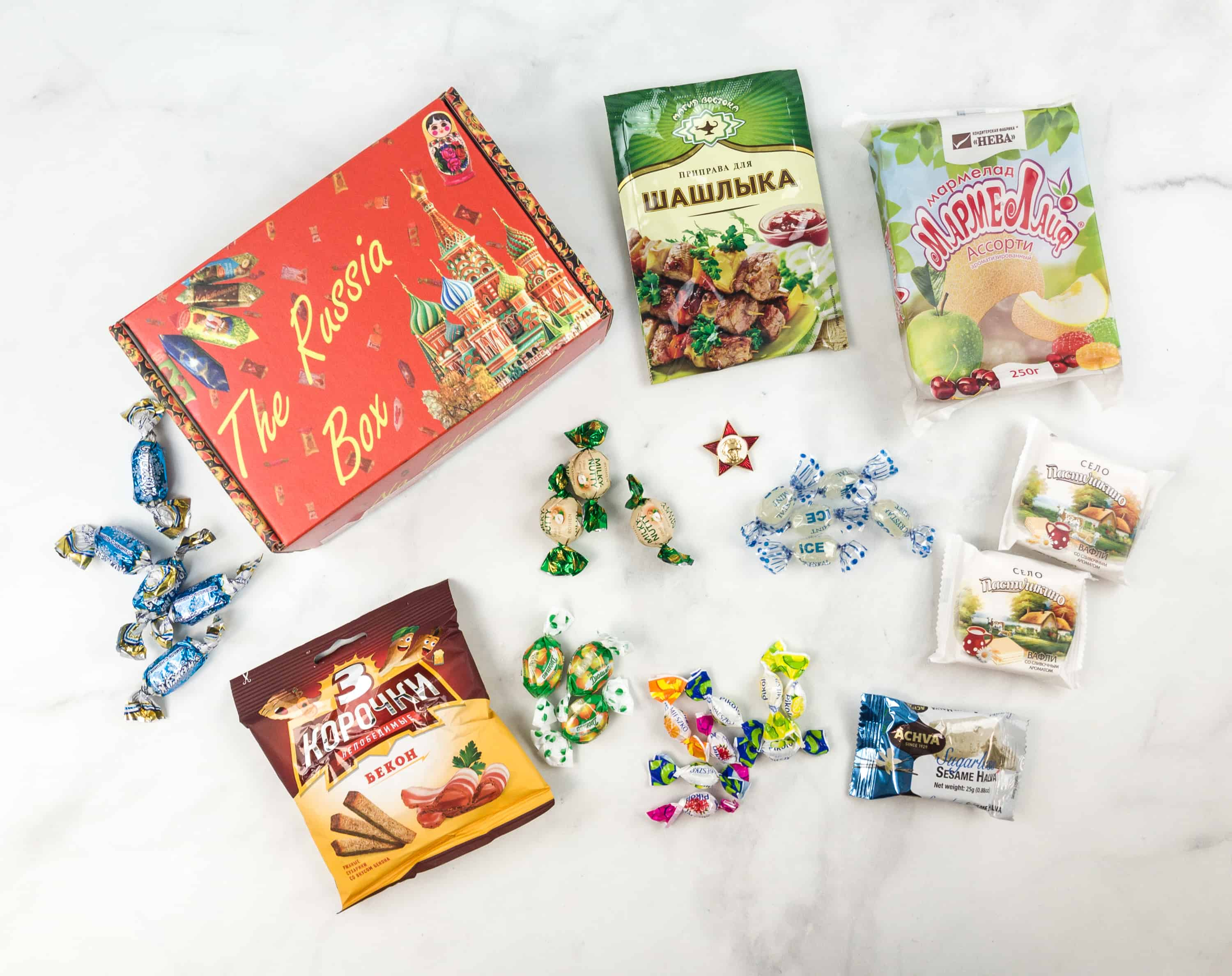 The Russia Box July 2018 Subscription Box Review + Coupons