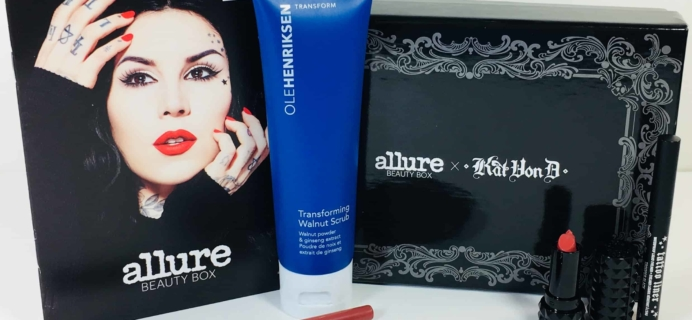 Allure Beauty Box June 2018 Subscription Box Review & Coupon