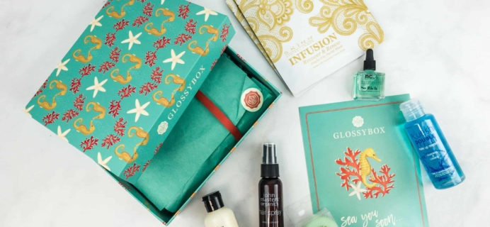 July 2018 GLOSSYBOX Subscription Box Review