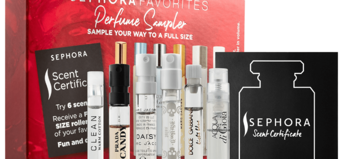 New Sephora Favorites Kits Available Now: Perfume Sampler Kit!