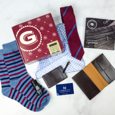 The Gentleman's Box July 2018 Review & Coupon