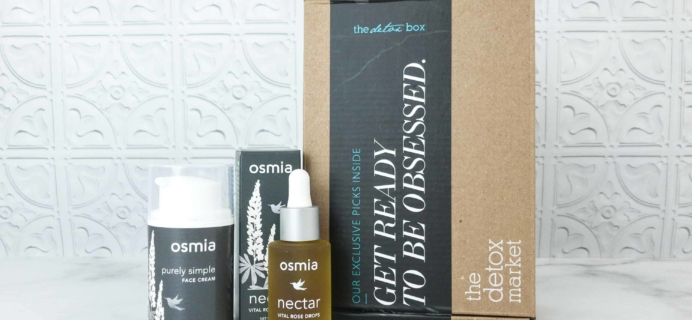 The Detox Box Subscription Box Review – July 2018