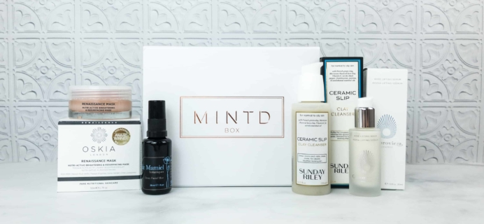 MINTD Box July 2018 Subscription Box Review + Coupon!