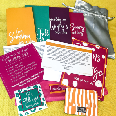 Loved+Blessed July 2018 Subscription Box Review + Coupon