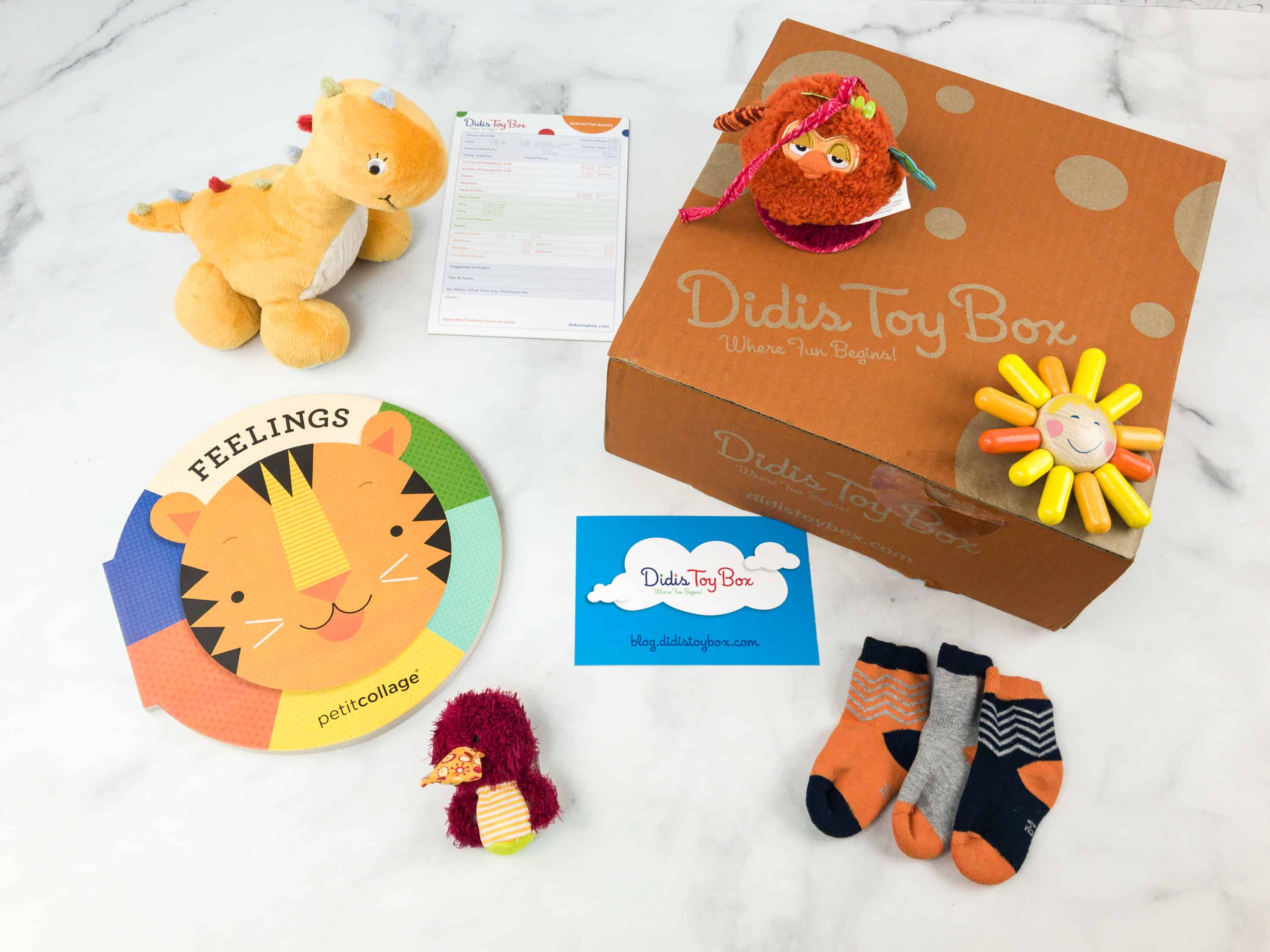 Didis Toy Box July 2018 Subscription Box Review #2 + Coupon!