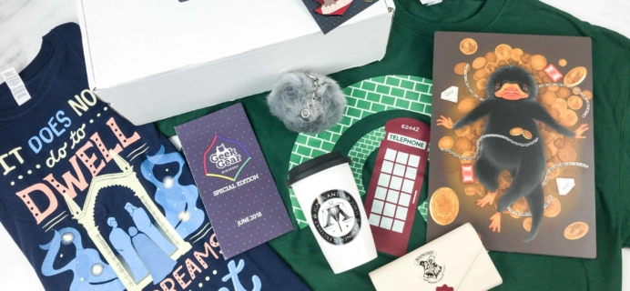 Geek Gear World of Wizardry June 2018 Special Edition Box Review