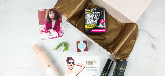 CosmoBox June 2018 Subscription Box Review