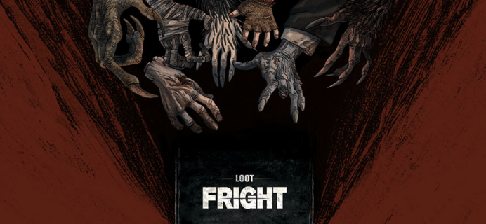 Loot Fright Coupon: Save 13% on New Horror Subscription Box by Loot Crate + September Theme Franchises!