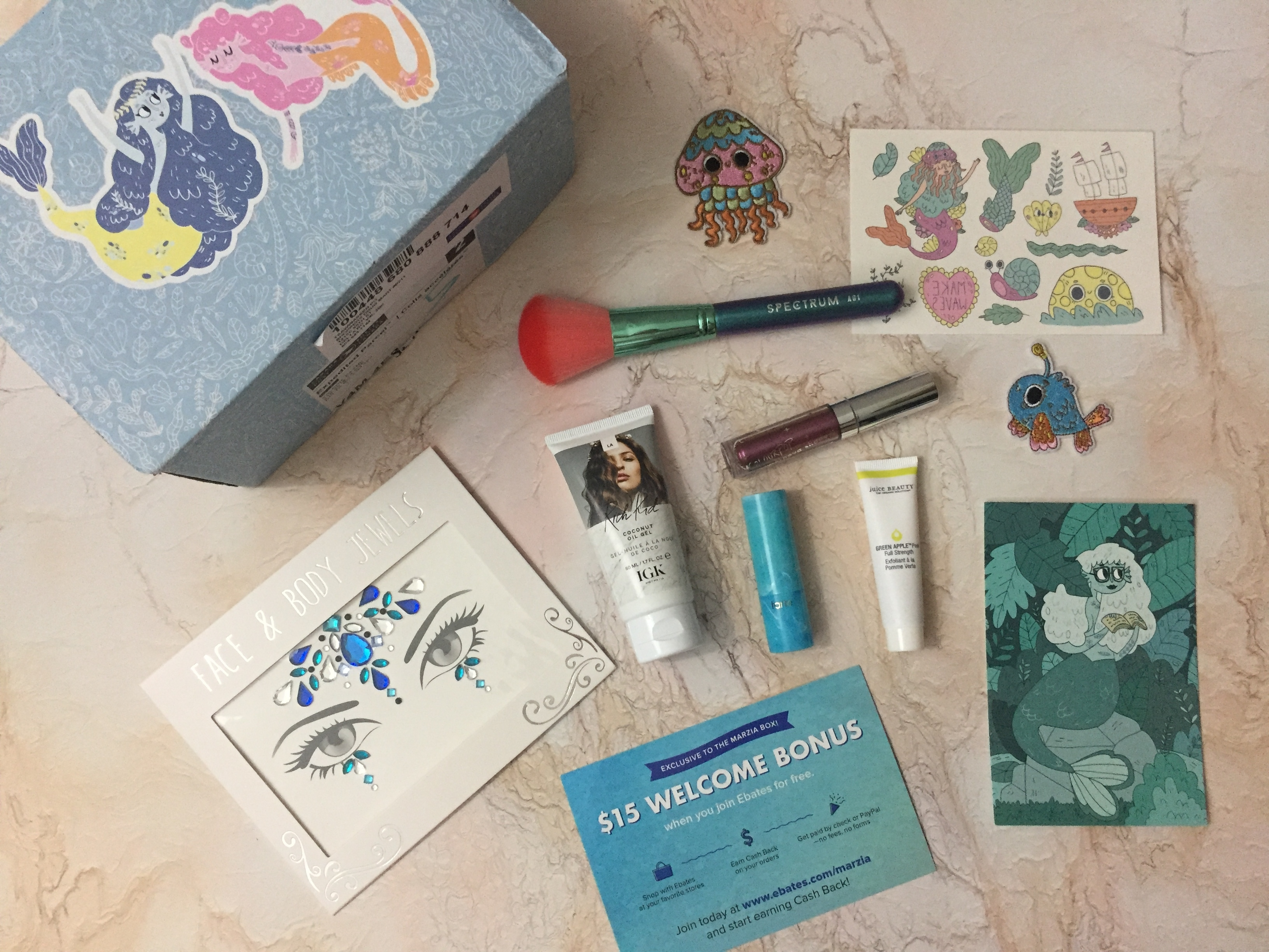 Marzia Summer 2018 Subscription Box Review
