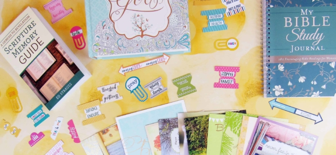 Bette's Box of Blessings Subscription Box July 2018 Review + Coupon