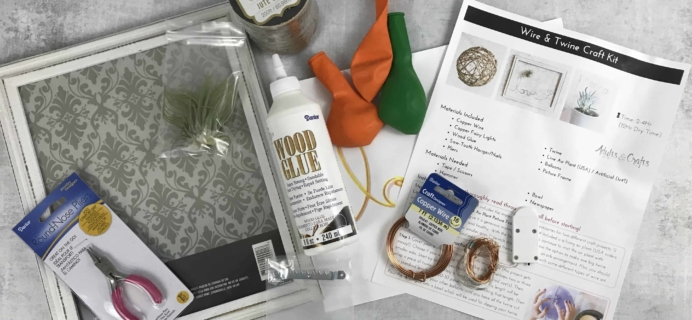 Adults + Crafts Subscription Box Review + Coupon – July 2018