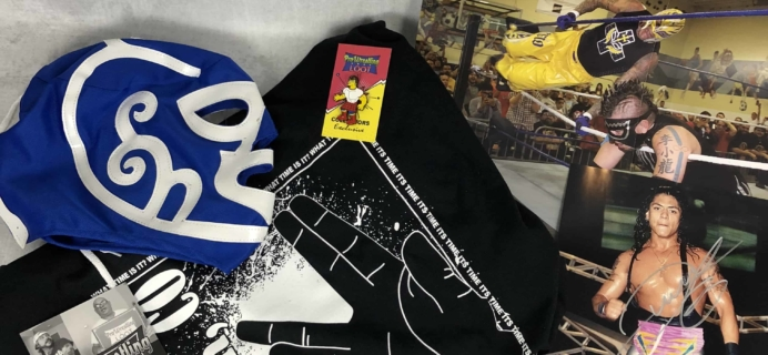 Pro Wrestling Loot July 2018 Subscription Box Review + Coupon
