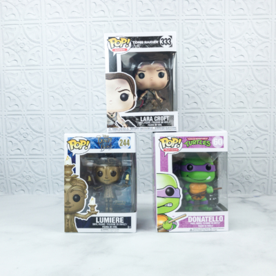 Pop In A Box July 2018 Funko Subscription Box Review & Coupon