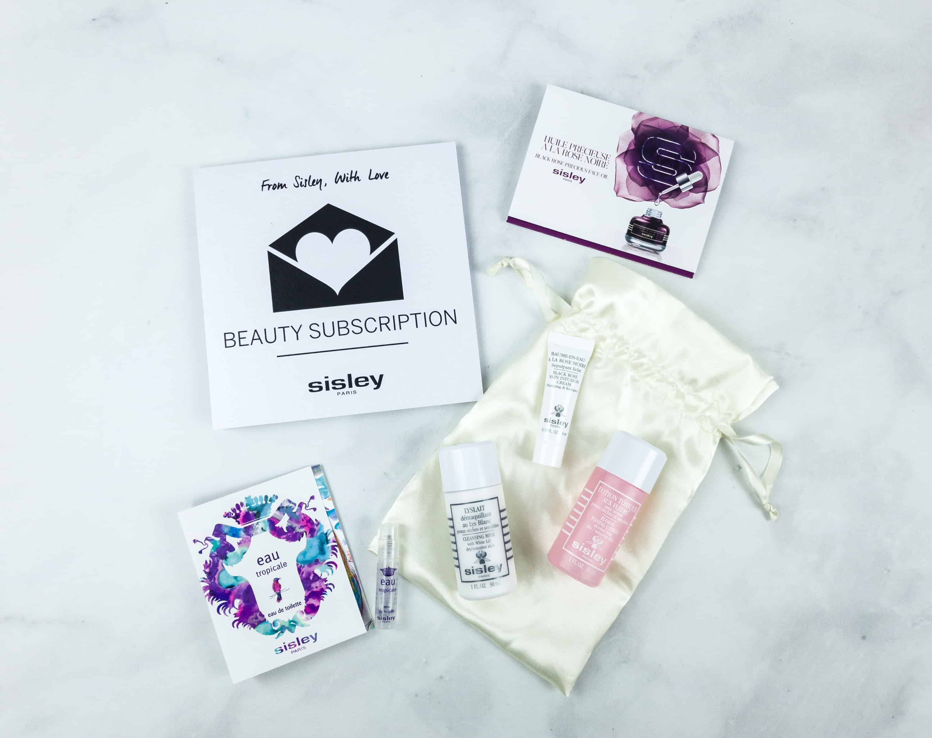 Sisley Paris Beauty Subscription July 2018 Box Review