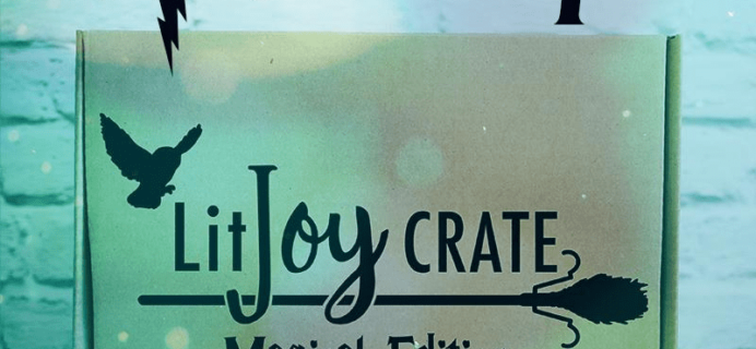 LitJoy Crate Magical Edition Year Four Box Spoiler!
