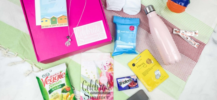 Rebecca Mail Deluxe Lifestyle Quarterly Subscription Box Review – Summer 2018