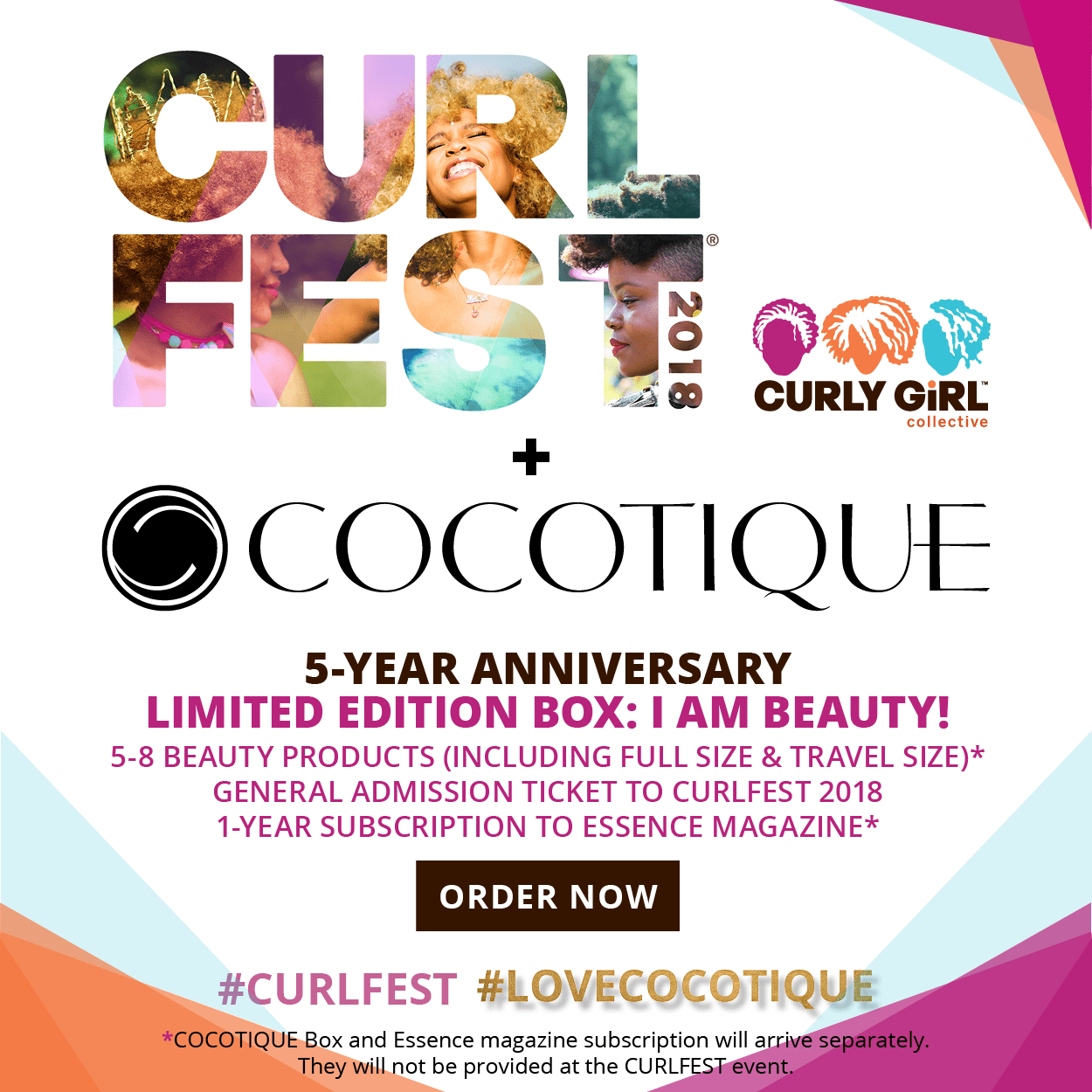 COCOTIQUE x CURLFEST 5-Year Anniversary Limited-Edition Box Available Now + Spoilers!