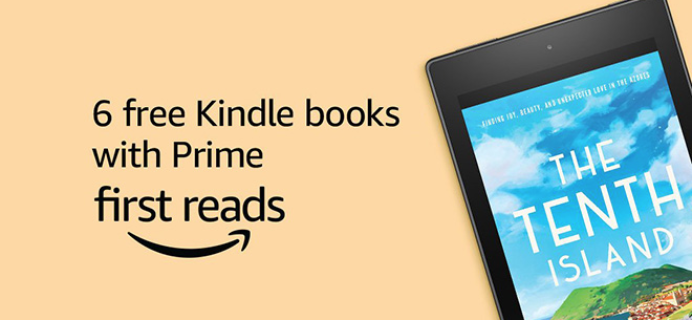 Amazon First Reads July 2018 Selections: 6 Kindle Books Free for Amazon Prime Members TODAY ONLY!