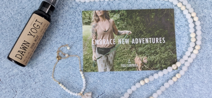 Yogi Surprise Jewelry Box Subscription Review + Coupon – July 2018