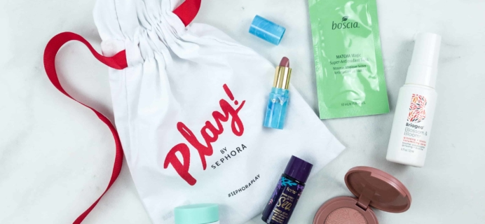 Play! by Sephora July 2018 Subscription Box Review
