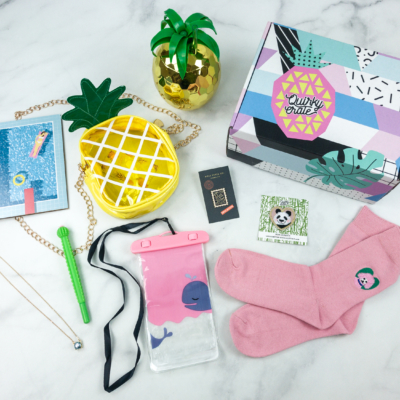 Quirky Crate July 2018 Subscription Box Review + Coupon