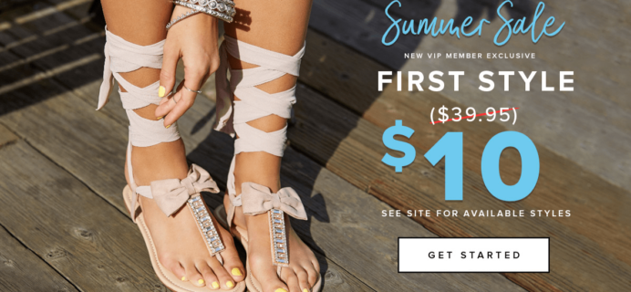 Shoedazzle Summer Sale : Get Your First Style For Only $10!
