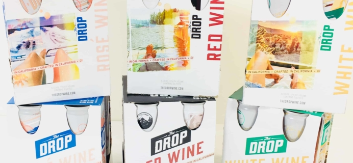 The Drop Wine July 2018 Subscription Box Review