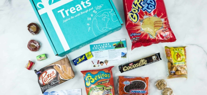 Treats Box July 2018 Review & Coupon