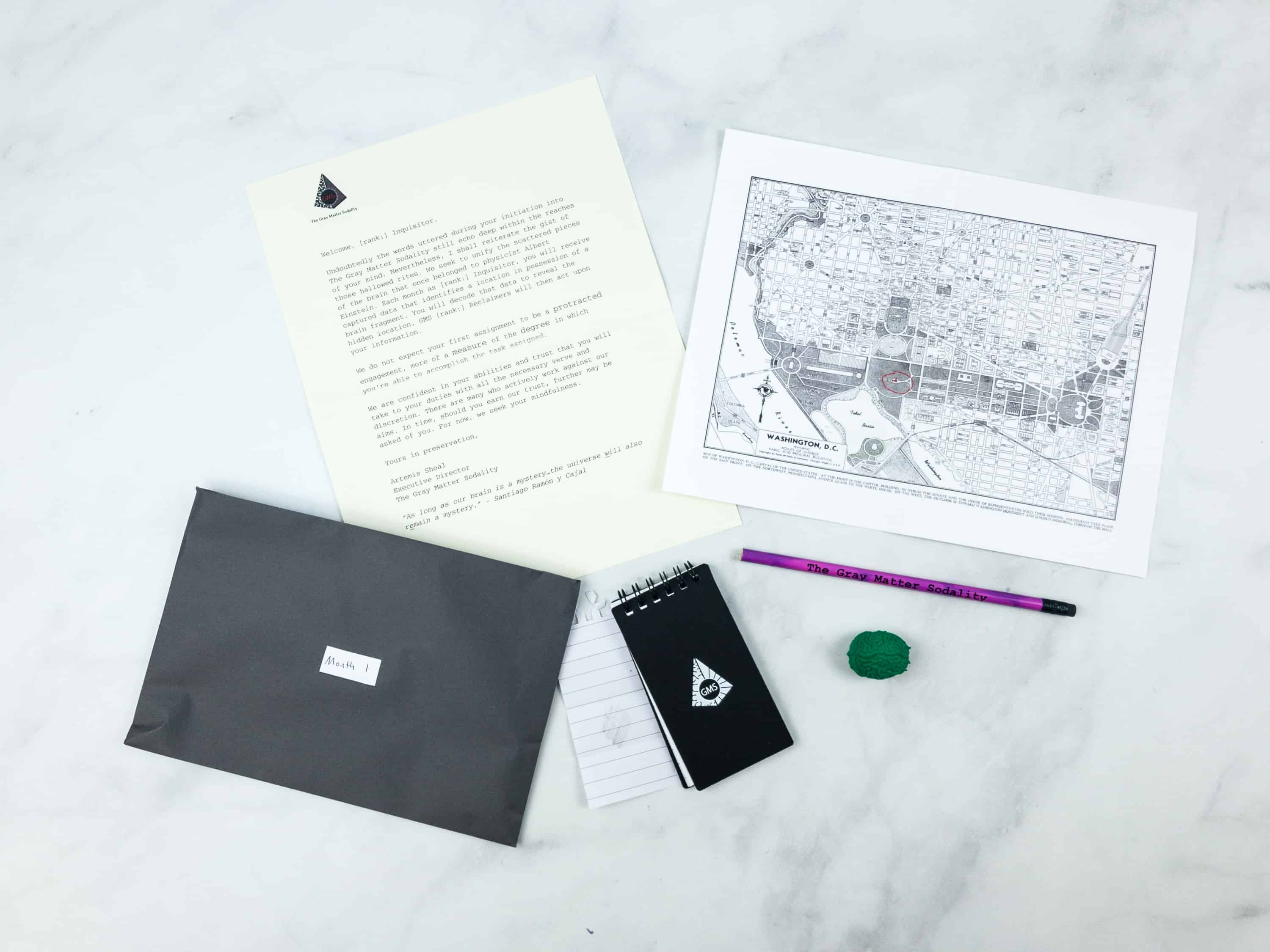The Gray Matter Sodality Subscription Box Review + Coupon – Month 1