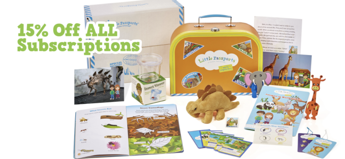 Little Passports Coupon: Save 15% On Any Subscription!