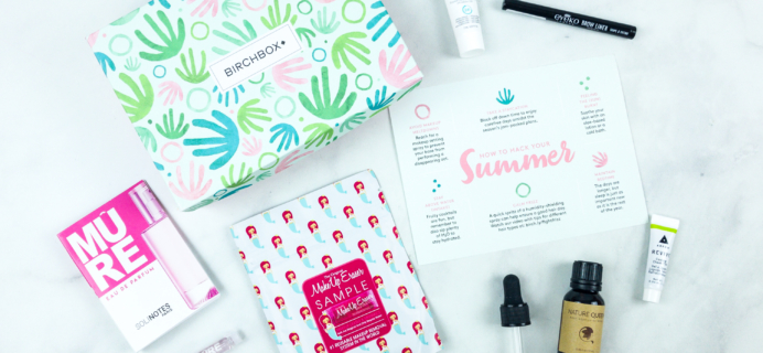 July 2018 Birchbox Subscription Box Review & Coupon