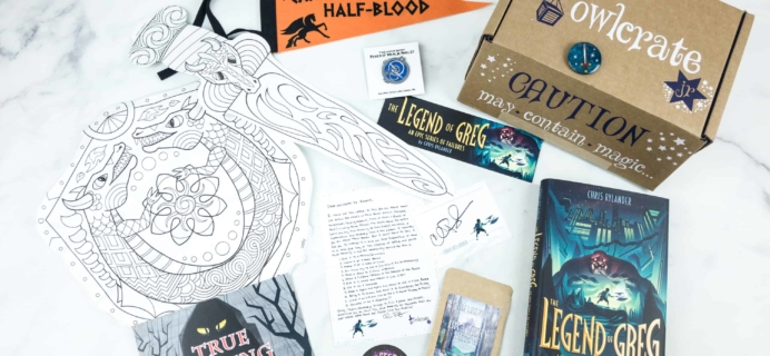 OwlCrate Jr. July 2018 Box Review & Coupon