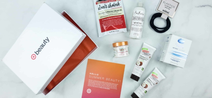Target Beauty Box July 2018 Review