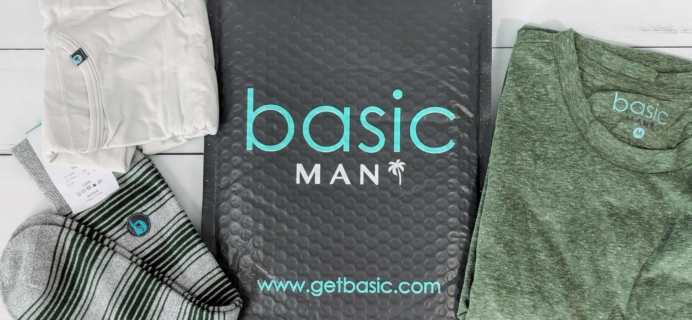 Basic MAN Subscription Box Review + Buy One Get One FREE Coupon – July 2018