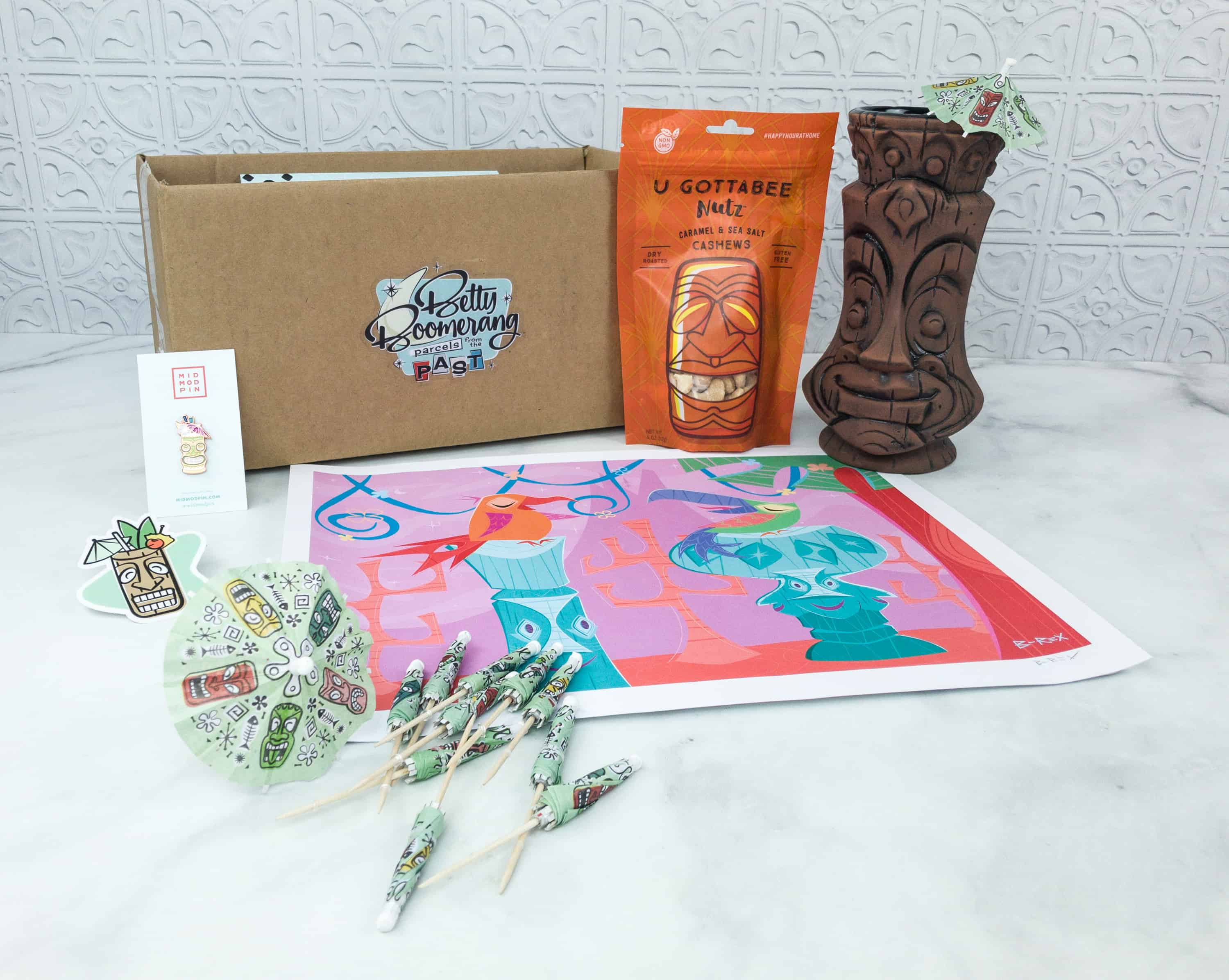 Betty Boomerang July 2018 Subscription Box Review + Coupon
