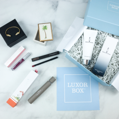 Luxor Box July 2018 Subscription Box Review