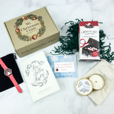 My Christmas Crate July 2018 Subscription Box Review + Coupon