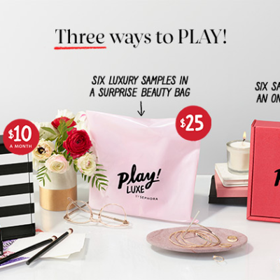 Play! by Sephora Memorial Day Sale – Past Boxes Now $9!