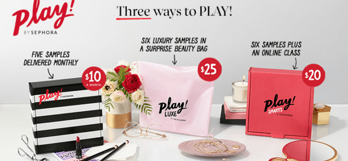 Play! by Sephora Past Boxes Sale!