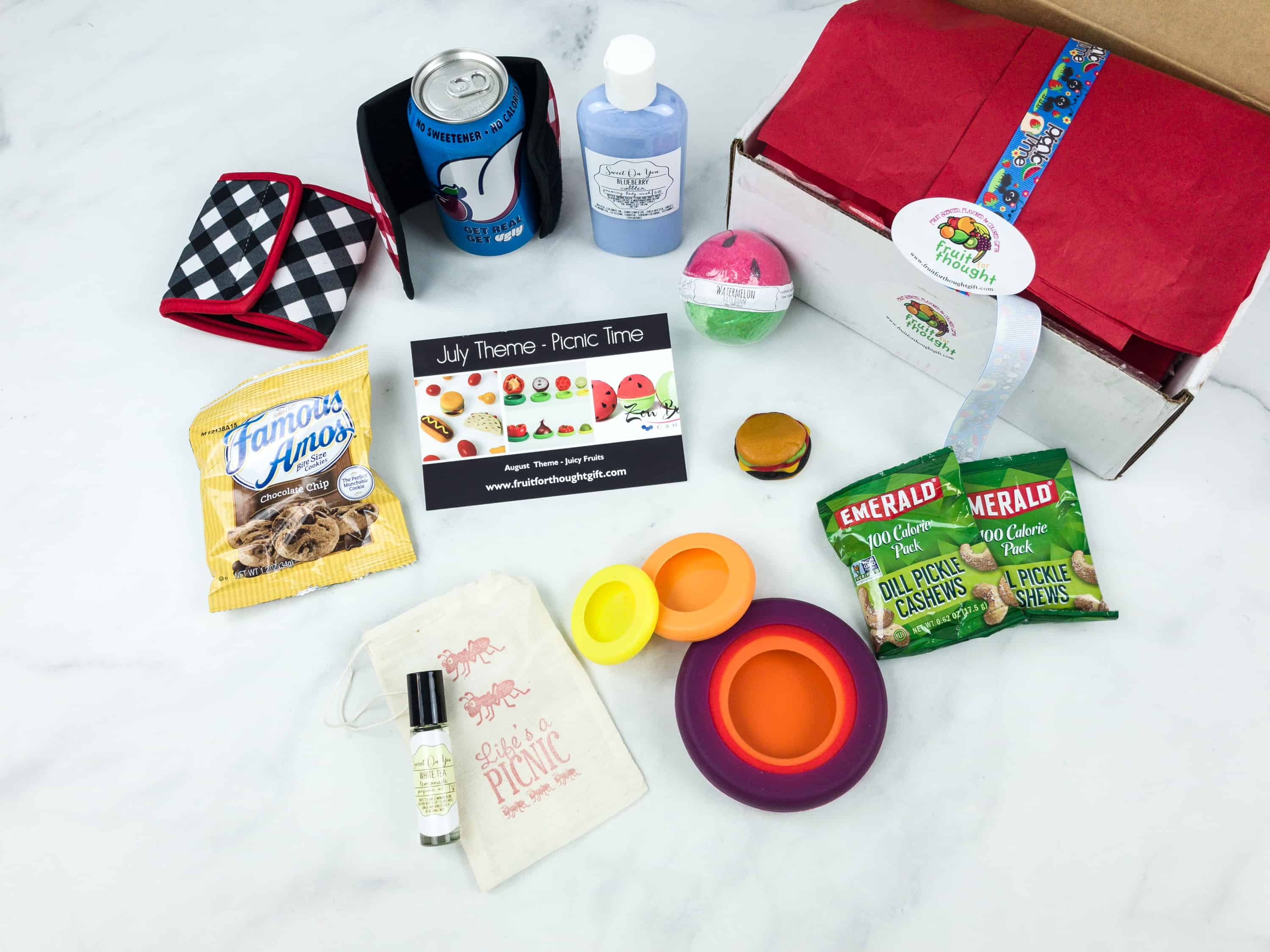 Fruit For Thought July 2018 Subscription Box Review & Coupon