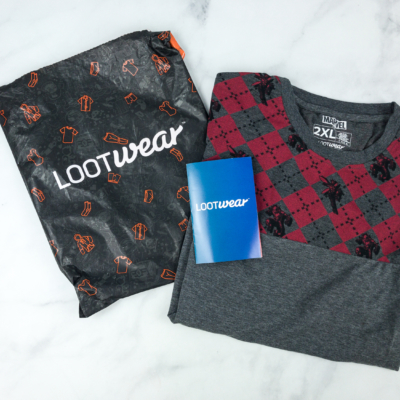 Loot Wearables Subscription by Loot Crate July 2018 Review & Coupon